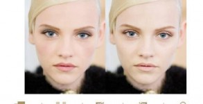 Il make up Yves Saint Laurent in un'applicazione