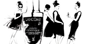 "Lancôme ""The Little Black Bottle, Twenty artists, One icon"