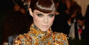 Coco Rocha al Costume Institute Gala