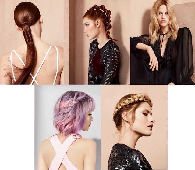 L'Oréal Professionnel Hair Fashion Night looks